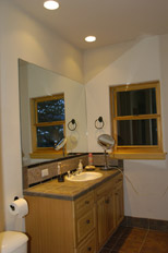 photo of downstairs bathroom