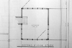 high chaparral ranch upper level study floor plan