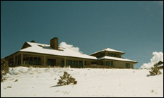photo of high chaparral in winter